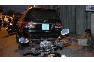 Viện trưởng Viện kiểm sát lái xe bỏ chạy sau khi gây tai nạn